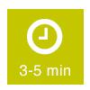 Ziehzeit: 3-5 Minuten