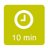 Ziehzeit: 10 Minuten